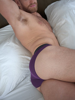 Subtly Satin Hipster Brief