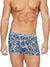 Blue Leopard Mesh Shorts