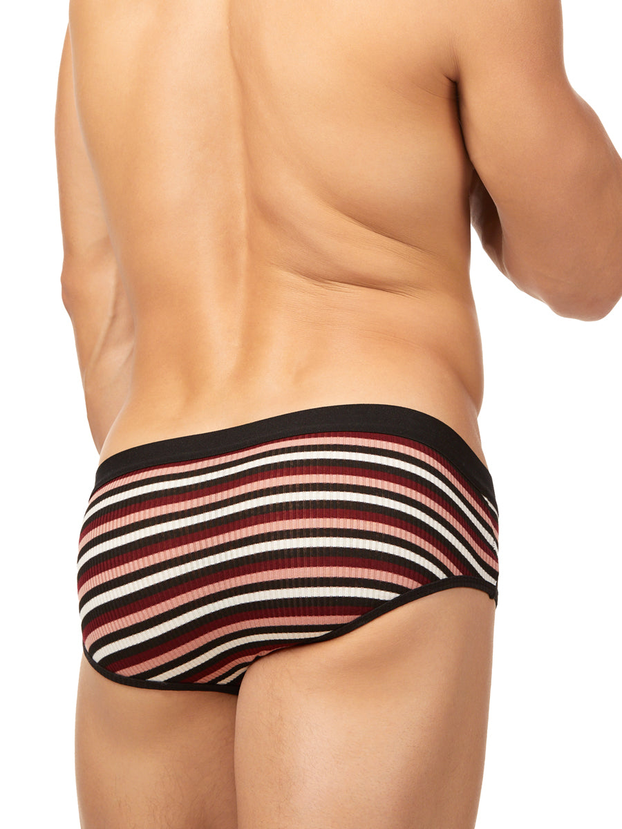 The Striped Ribbed Brief