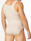 Men's Striped Bodysuit