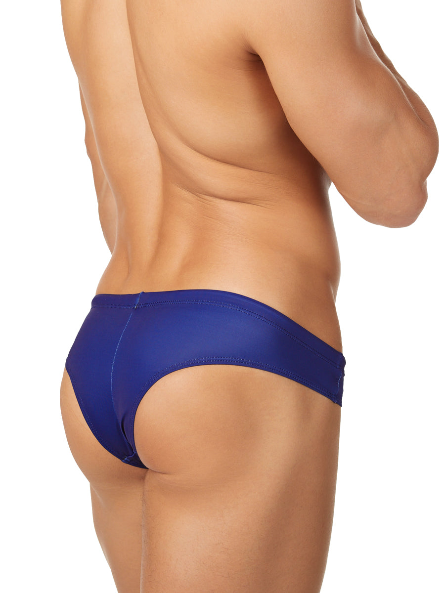 Men's blue swim bikini