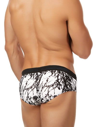 Men's print brief