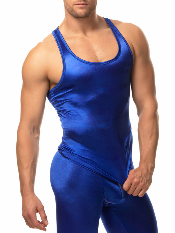 The Sleek Satin Tank