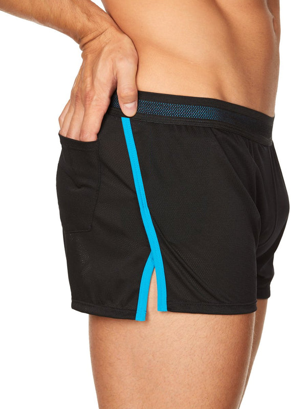 Men's Black Gym Shorts