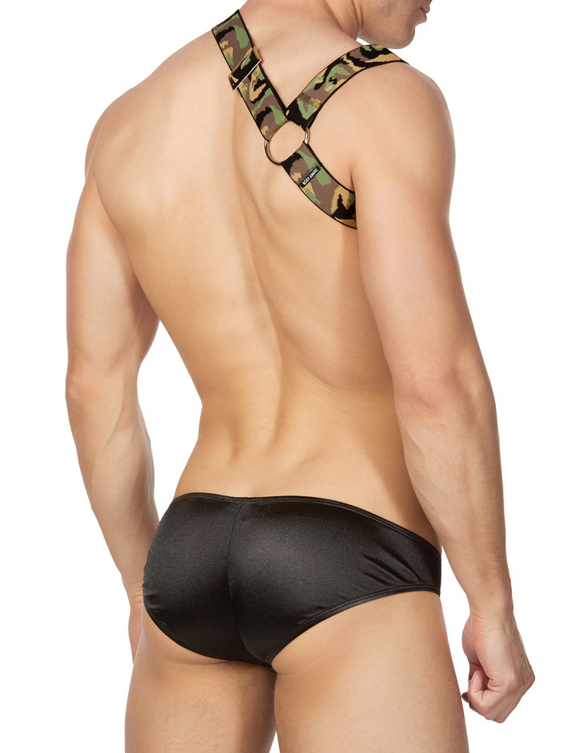 Men's Camoflage Fetish Harness