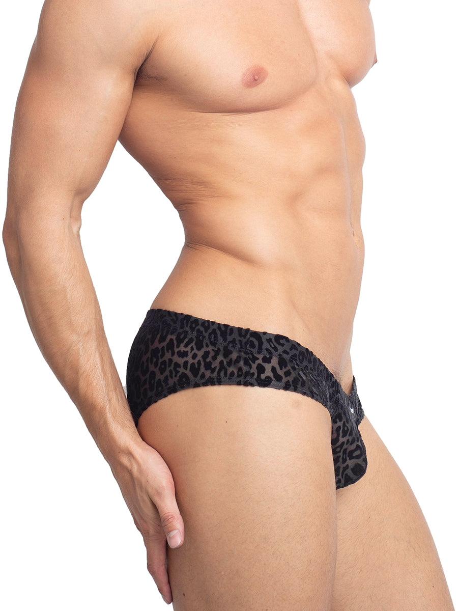 The Burnout Velvet Micro Brief