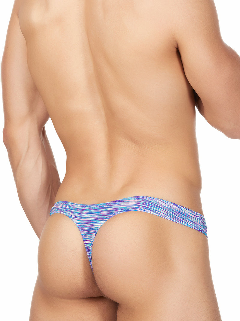 Men's purple thong underwear