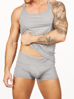 Men's grey tank top
