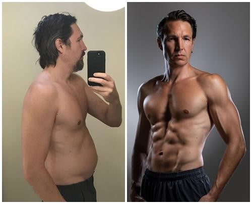 vegan fitess transformation ben raue