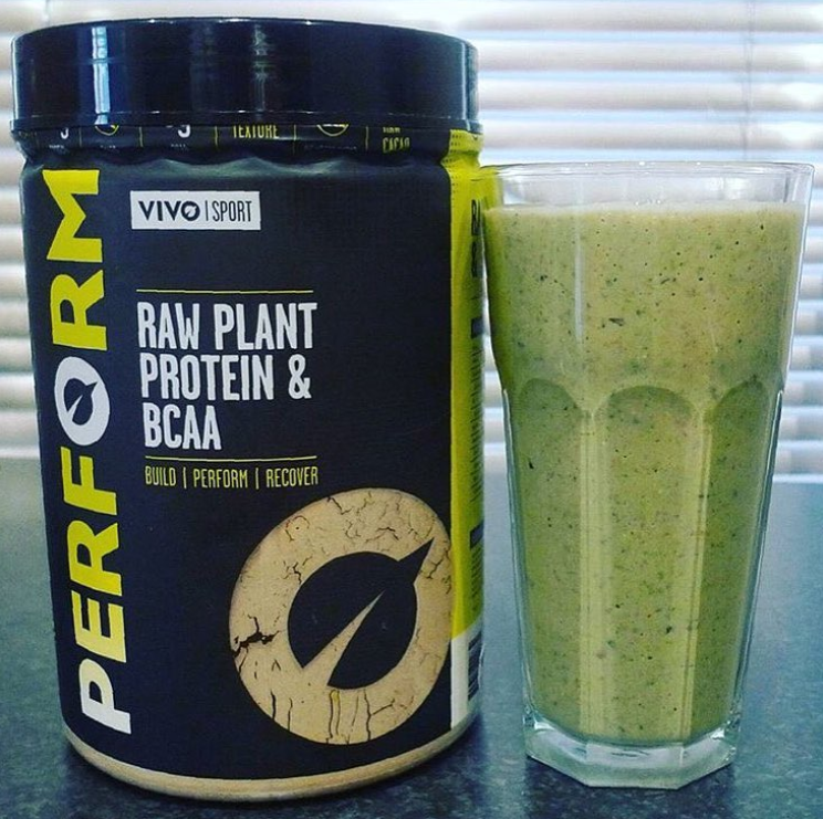 Vivo Life first PERFORM raw plant protein powder