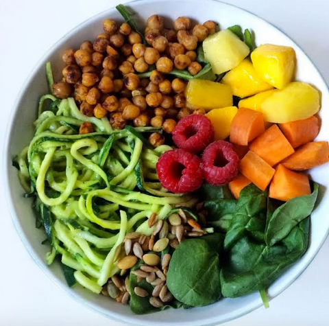easy vegan protein zoodles recipes