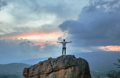 how to live a balanced and courage life