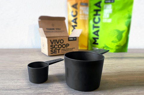 vivo life compostable scoop set