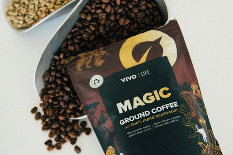 vivo life magic mushroom coffee