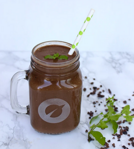 chocolate mint smoothie milkshake recipe