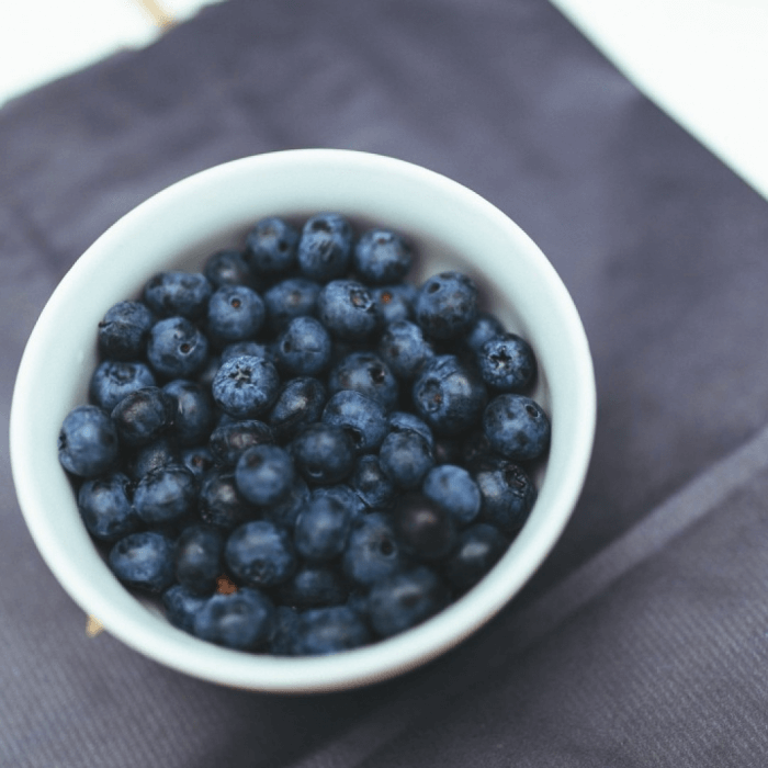 Blueberries mood food