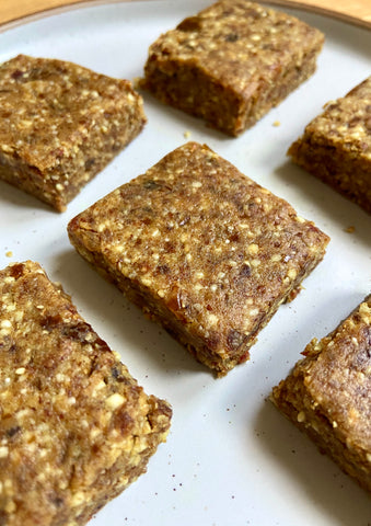 healthy gingerbread bars recipe vivo life