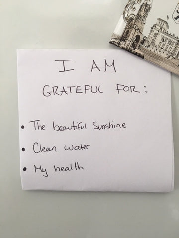 grateful for list gratitude give thanks
