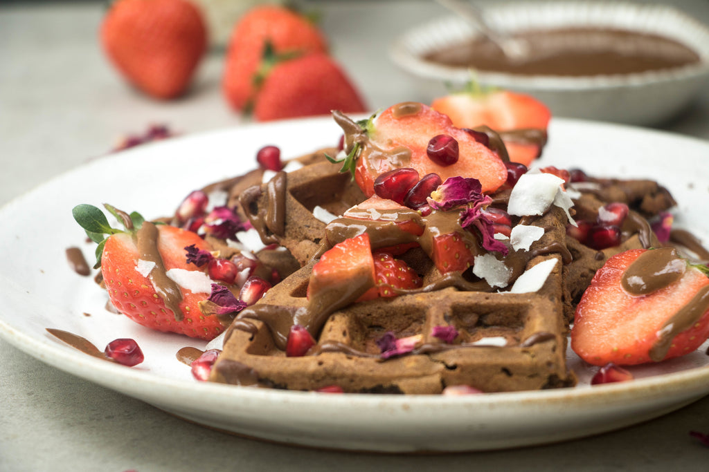 VEGAN HIGH PROTEIN WAFFLES RECIPES