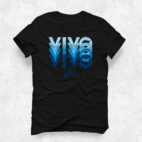 Women's Organic Cotton Tee - VIVO (Black)