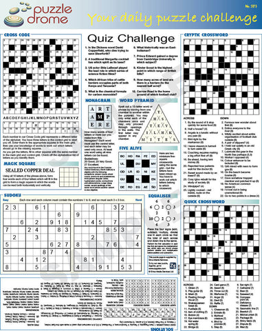 PZ1P001 (1-page Puzzle Supplement)