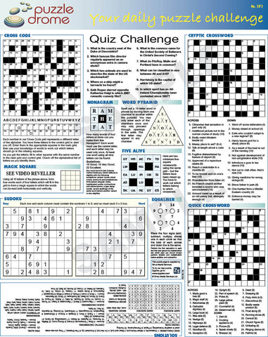 PZ1P003 (1-page Puzzle Supplement)