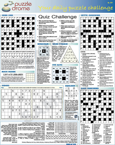 PZ1P005 (1-page Puzzle Supplement)