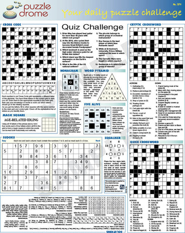 PZ1P007 (1-page Puzzle Supplement)
