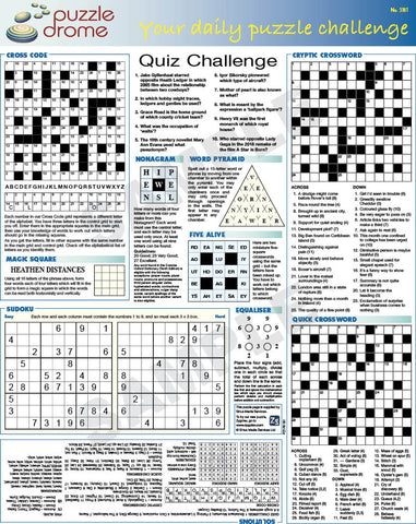 PZ1P009 (1-page Puzzle Supplement)