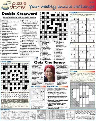 PZW005 (1-page Puzzle Supplement)