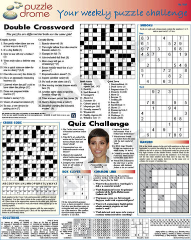 PZW007 (1-page Puzzle Supplement)