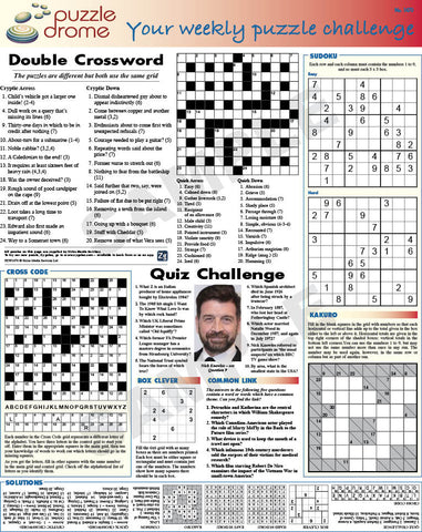 PZW008 (1-page Puzzle Supplement)
