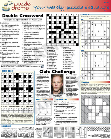 PZW009 (1-page Puzzle Supplement)