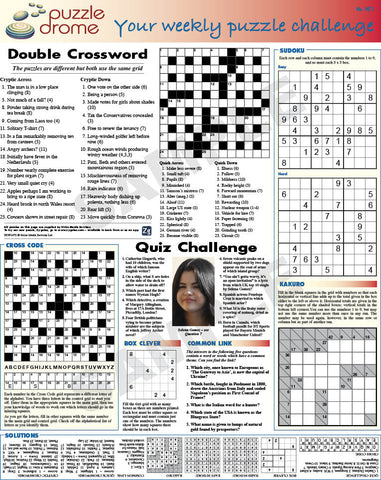 PZW010 (1-page Puzzle Supplement)