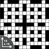 Crossword — Cryptic — 13x13 grid