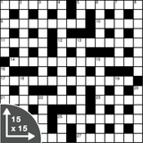Crossword — Cryptic — 15x15 grid