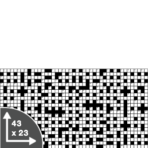 Crossword Giant — Quick — 43x23 grid