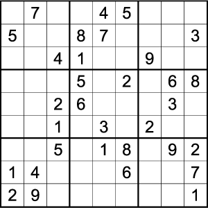 Buy Sudoku Easy Puzzles For Print Puzzle Sales