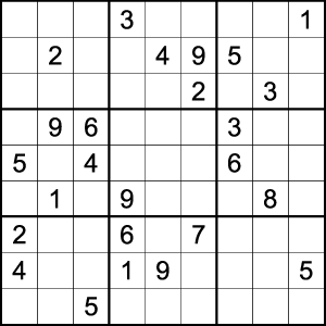 photograph about Difficult Sudoku Printable named Sudoku Difficult No. 0003