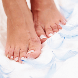 Natural Foot Care:  The Power of Chamomile