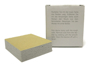 Nubuck Leather Cleaning Sponge by Valentino Garemi - valentinogaremi-usa