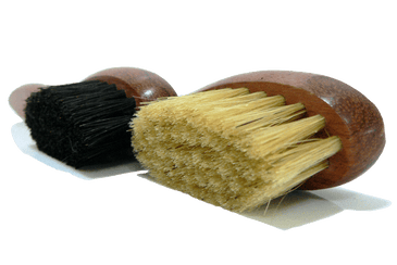 Shoe Polish Applicator Brush - Bubinga Wood & Boar Bristles by Famaco - valentinogaremi-usa