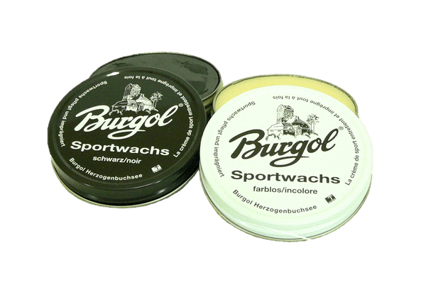 Sport Shoe Wax Polish Paste - Leather Shine Sportwachs by Burgol - valentinogaremi-usa