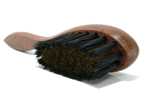 Suede Nubuck Cleaning Brush - Brass Bristles - Bubinga Wood By Famaco - valentinogaremi-usa