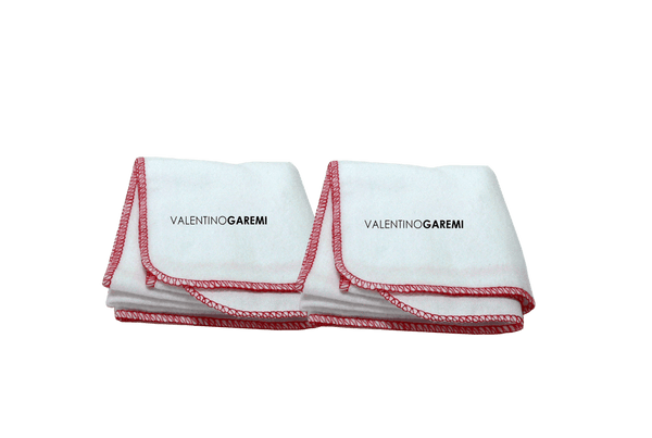 Cleaning & Polishing Cloths - Set of two - Valentino Garemi - valentinogaremi-usa