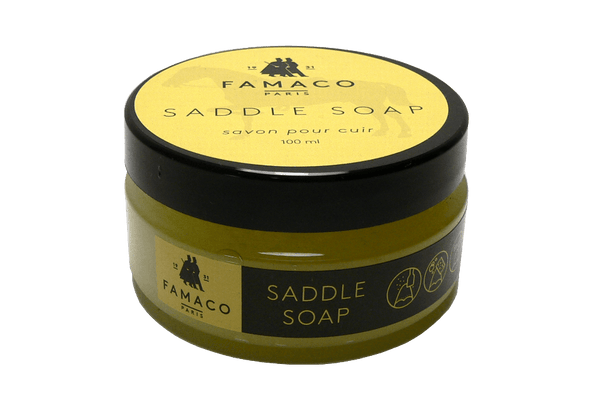 Leather Soap – Shoes Garments & Furniture Clean Paste by Famaco France - valentinogaremi-usa