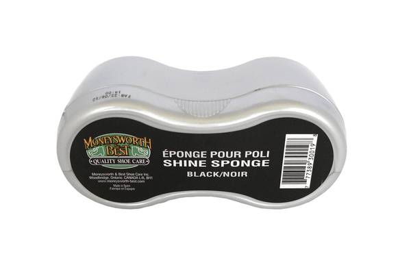 Shoe Shine Sponge by Moneysworth & Best - valentinogaremi-usa
