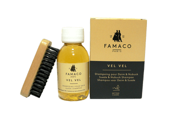 Suede Nubuck Cleaning Shampoo – Shoes Stain Remove by Famaco France - valentinogaremi-usa