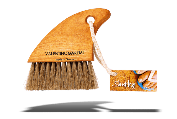 Valentino Garemi Horsehair Beach Sand Brush – Clean Skin & Accessories - valentinogaremi-usa