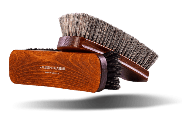 Polishing Shoe Shine Brush - Supreme Polisher by Valentino Garemi - valentinogaremi-usa